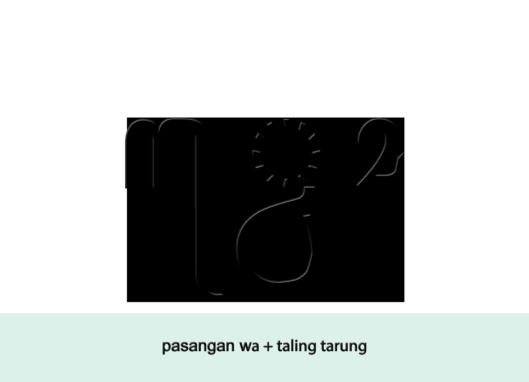 File Aksara Jawa Pasangan Wa Taling Tarung Png Wikimedia Commons