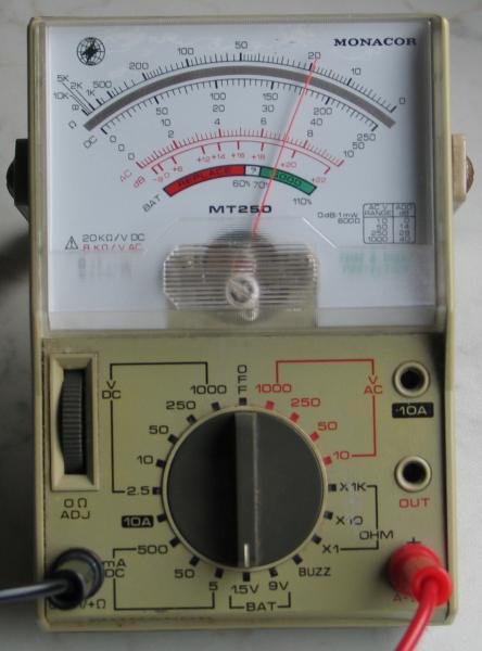wechselspannung messen multimeter