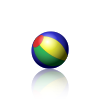 Animated PNG example bouncing beach ball.png