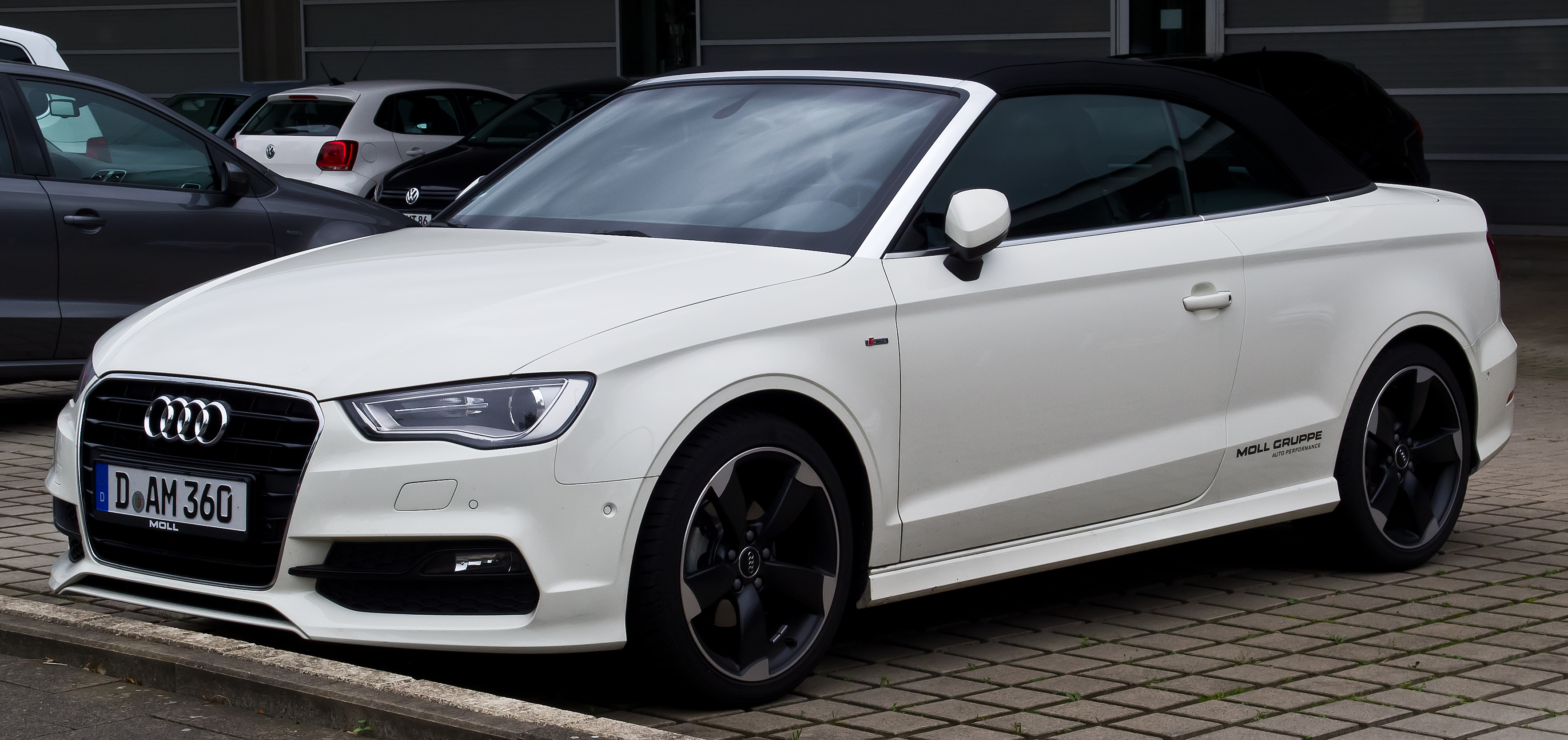 fichier audi a3 cabriolet 2 0 tdi ambition s line 8v frontansicht 30 august 2014. Black Bedroom Furniture Sets. Home Design Ideas