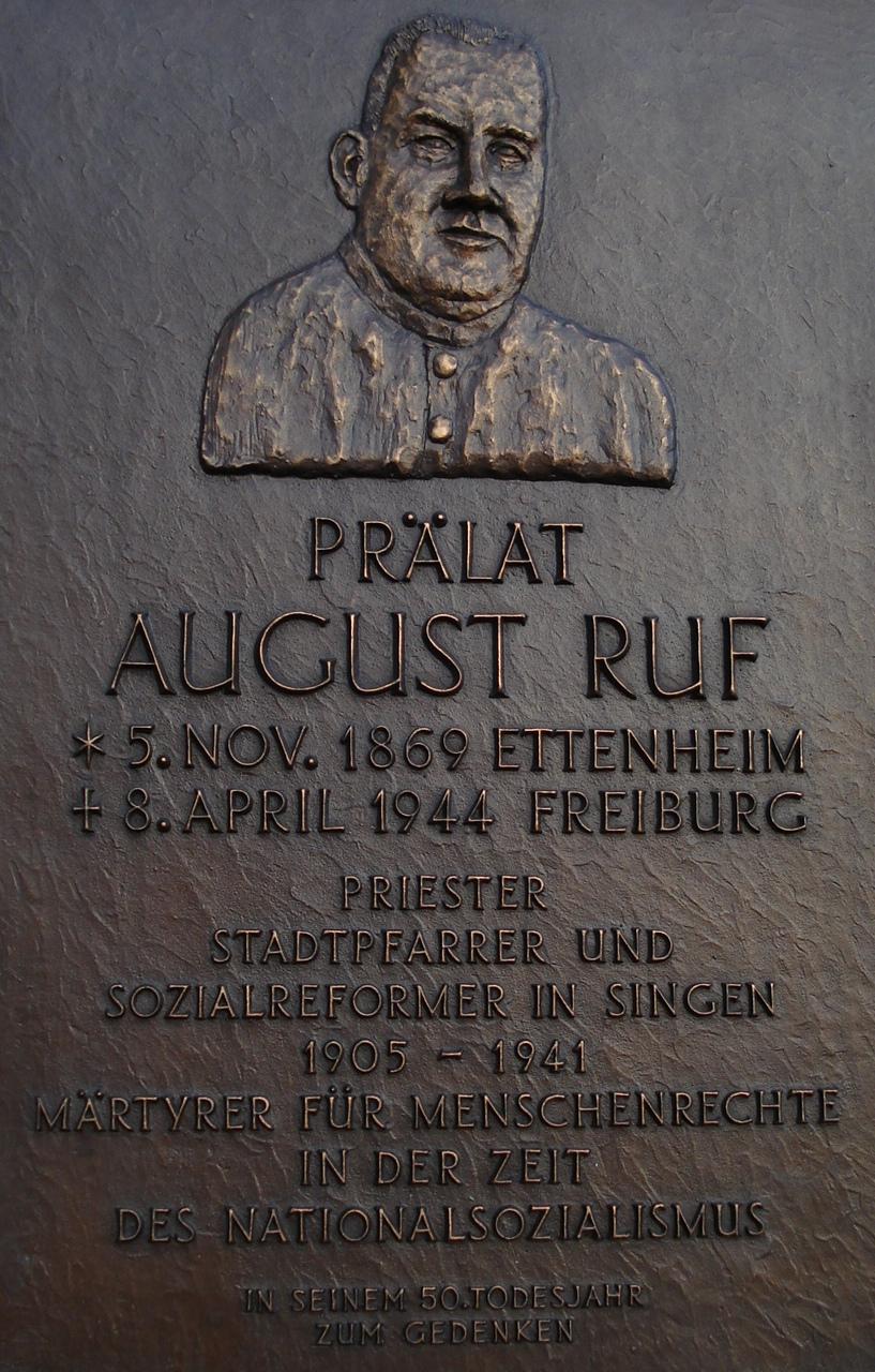 August Ruf Str Singen