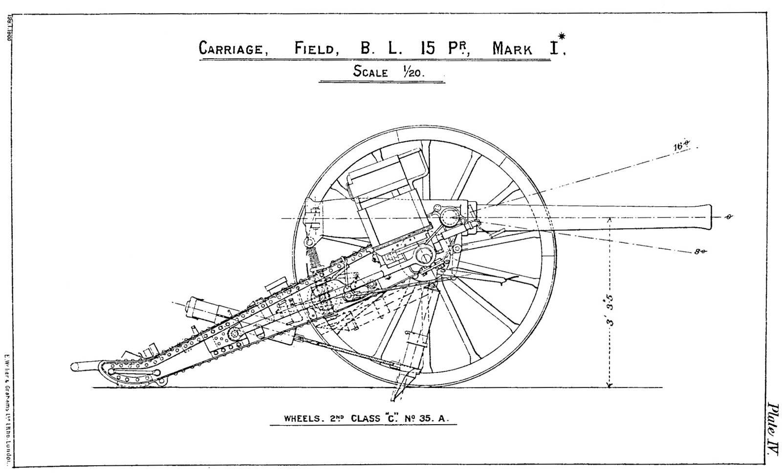 File:BL 15 pounder gun carriage Mark I* diagram jpg