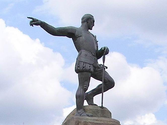 Памятник Белалькасару в Сантьяго-де-Кали/Википедия