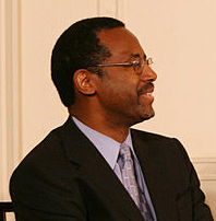 Carson at the White House in 2008 for the Presidential Medal of Freedom
