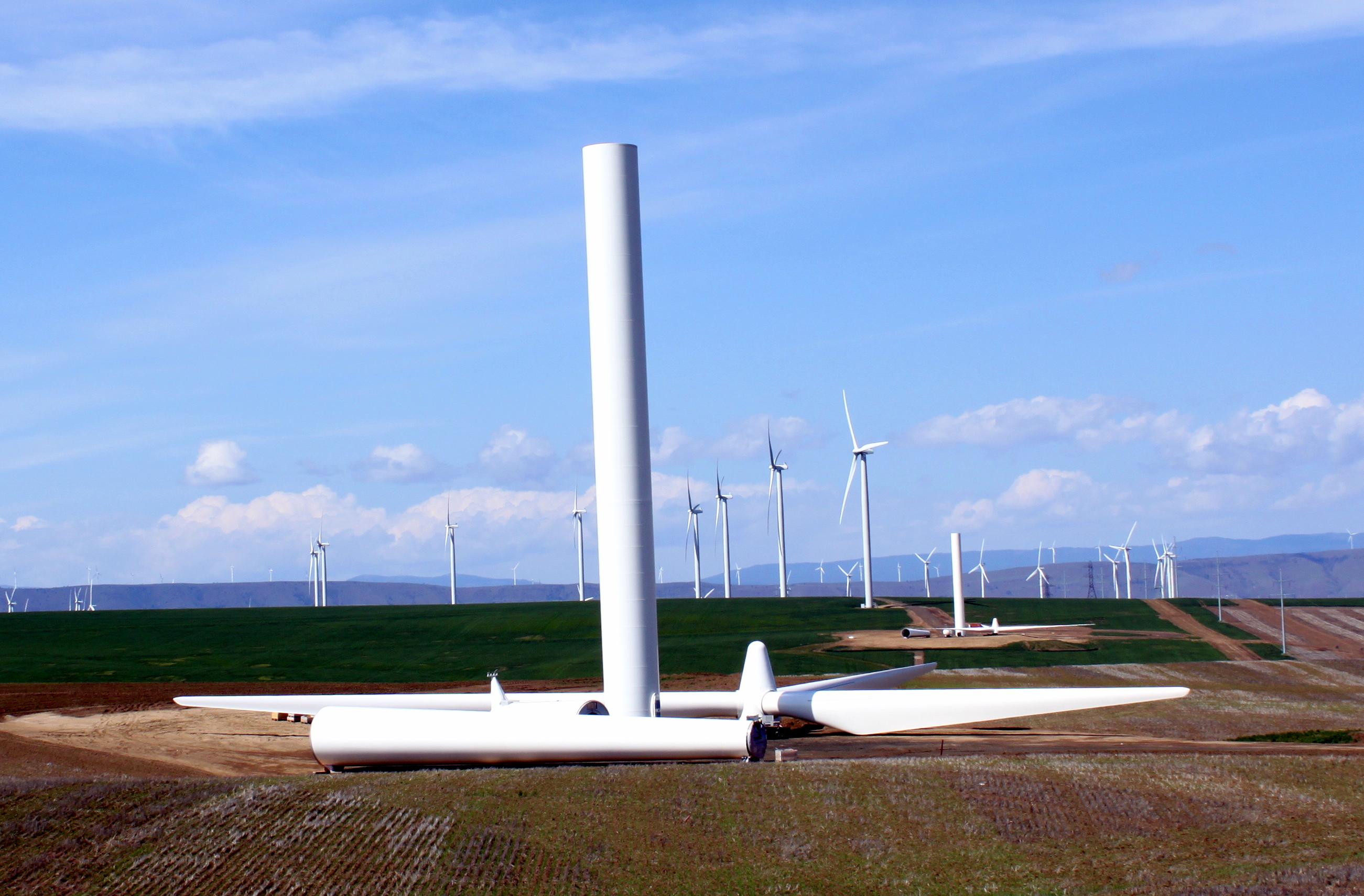 Iowa Wind Farms Biglow Canyon Wind Farm