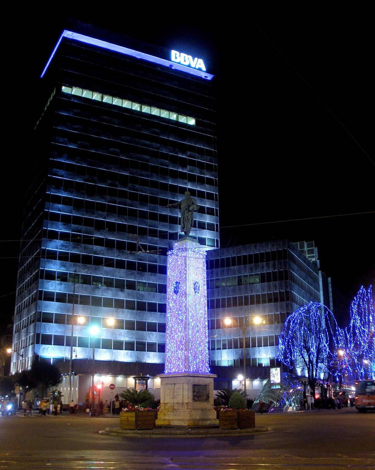 Banco bilbao vizcaya argentaria wikipedja wolna for Banco santander bilbao oficinas