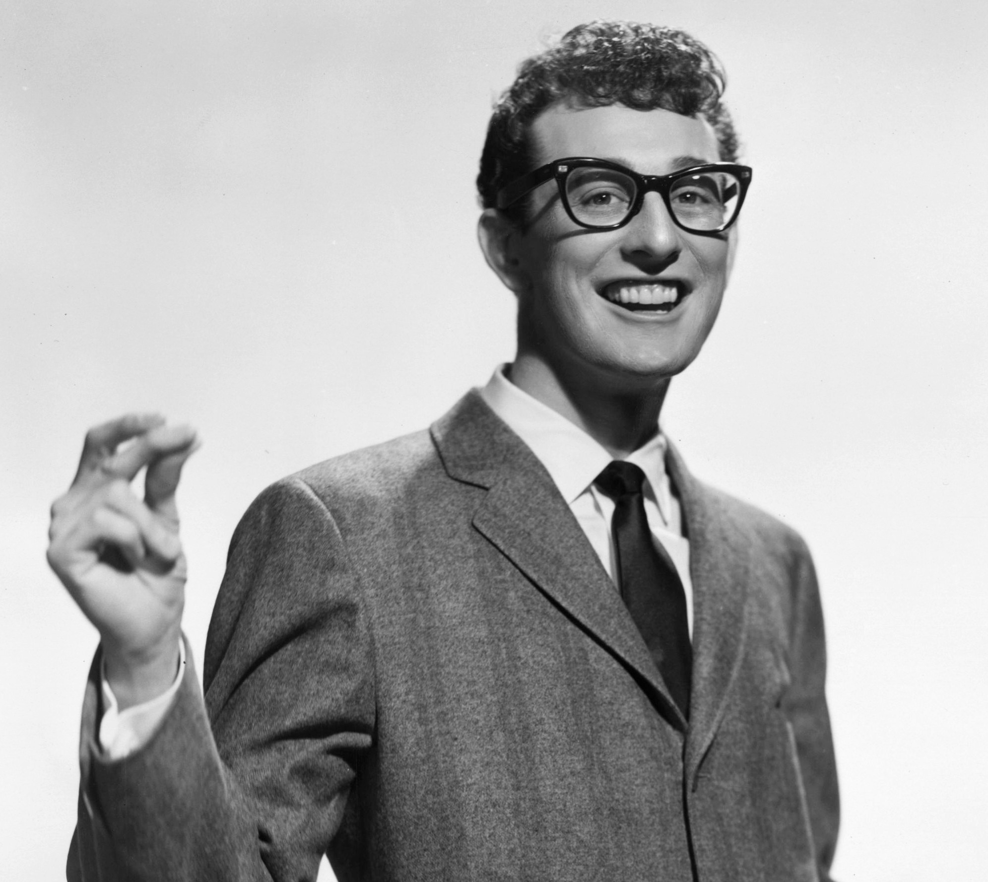 Depiction of Buddy Holly