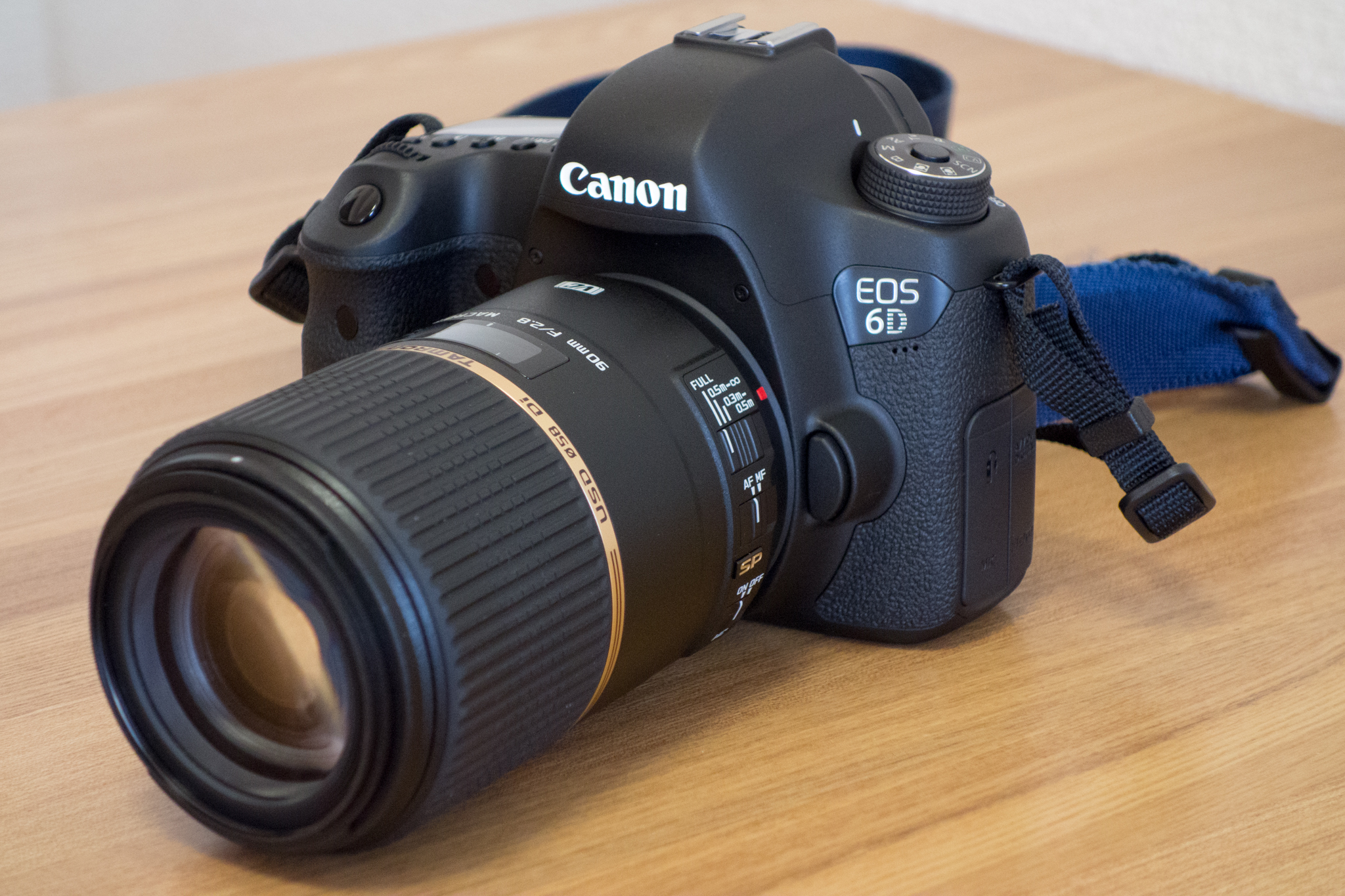 Tapa de objetivo 58 mm Lens Cap para Tamron SP 90 mm F//2.8 Di Macro 1:1 VC USD