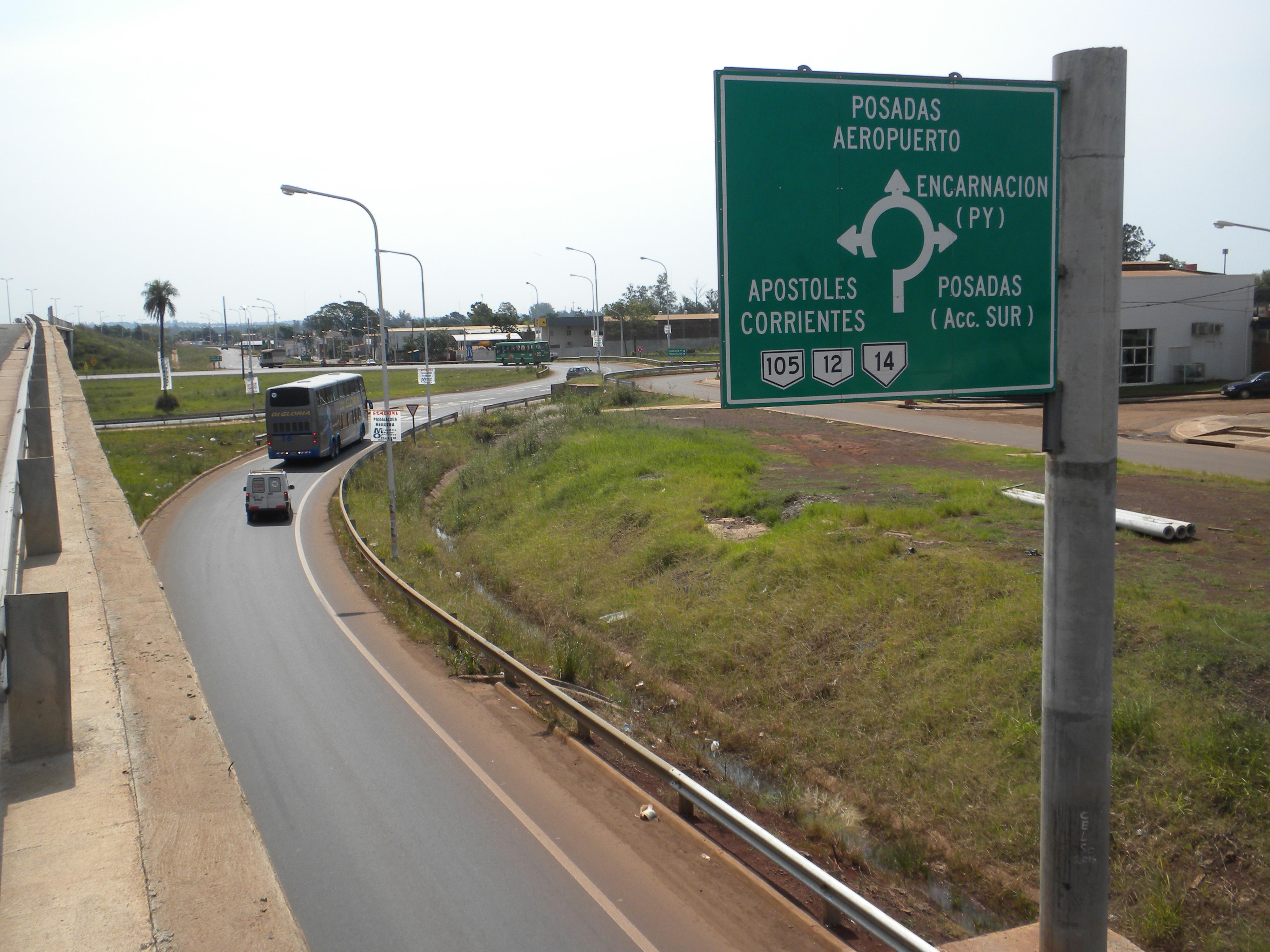 Resultado de imagen para ruta nacional de misiones