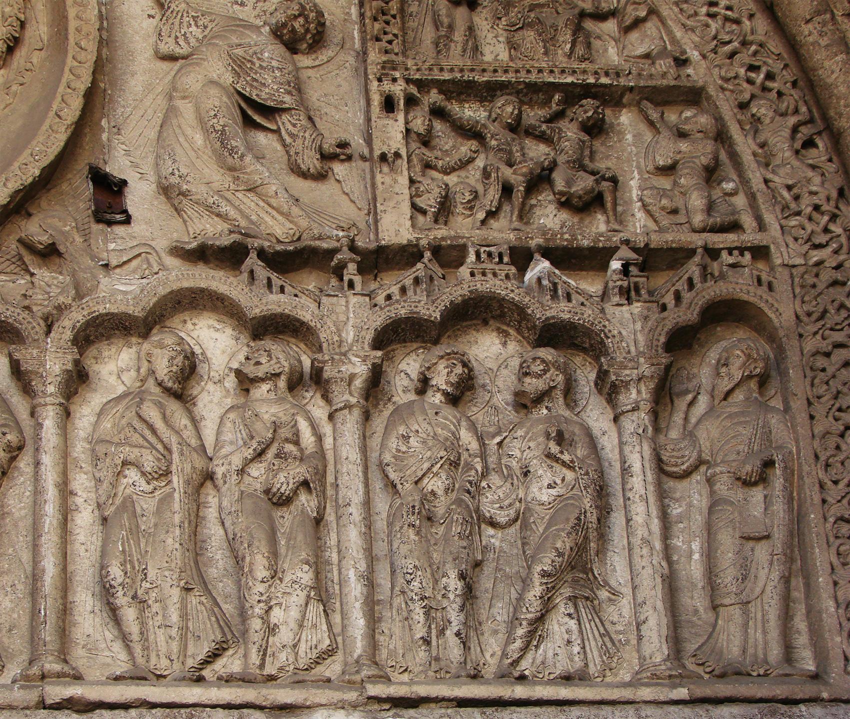 File cath drale de cahors wikimedia commons - Cathedrale saint etienne de cahors ...