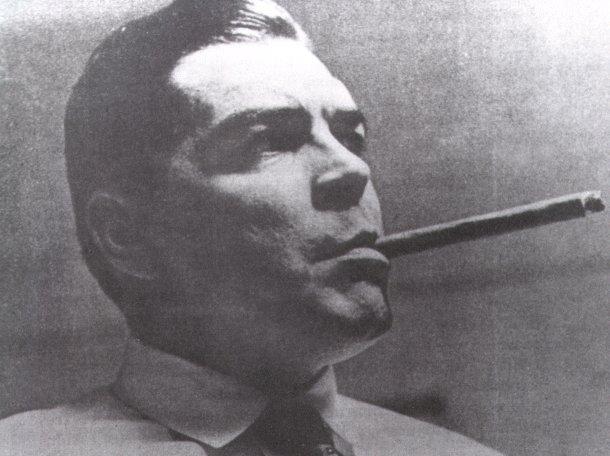 Ernesto Guevara disfrazado para su salida hacia el Congo.
