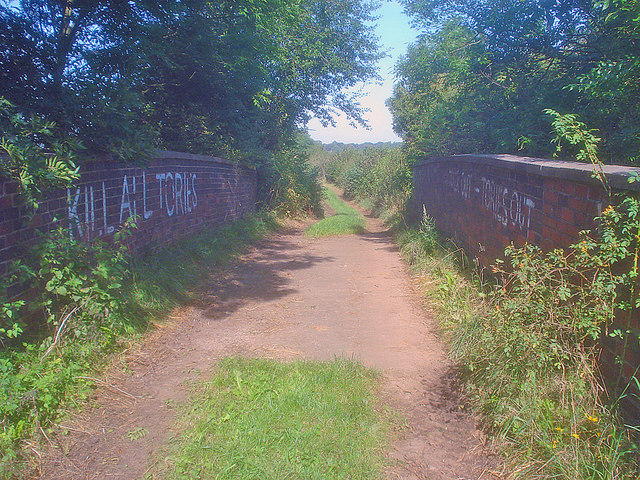 Conservative graffiti - geograph.org.uk - 1589247