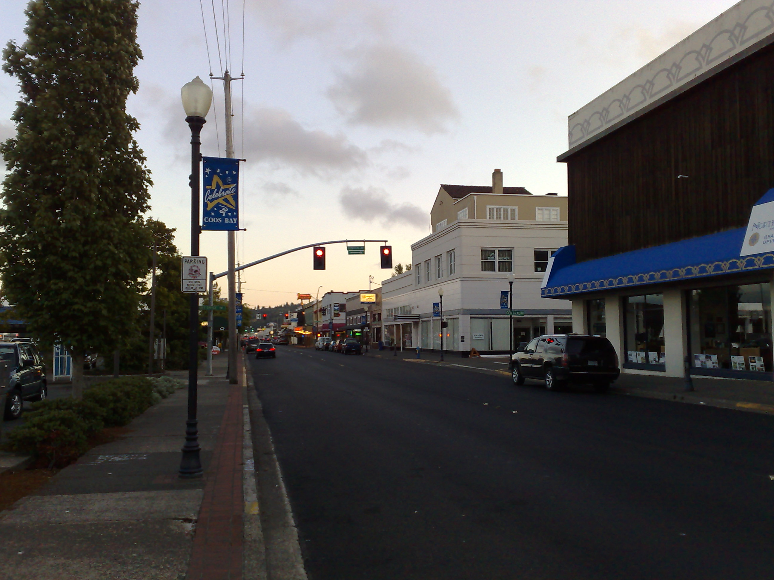 Downtown Coos Bay Oregon