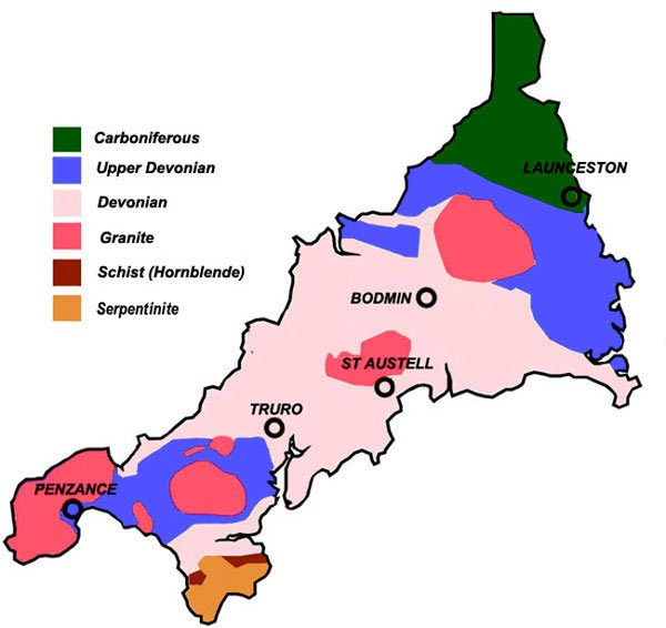 Geology Of Cornwall Wikipedia