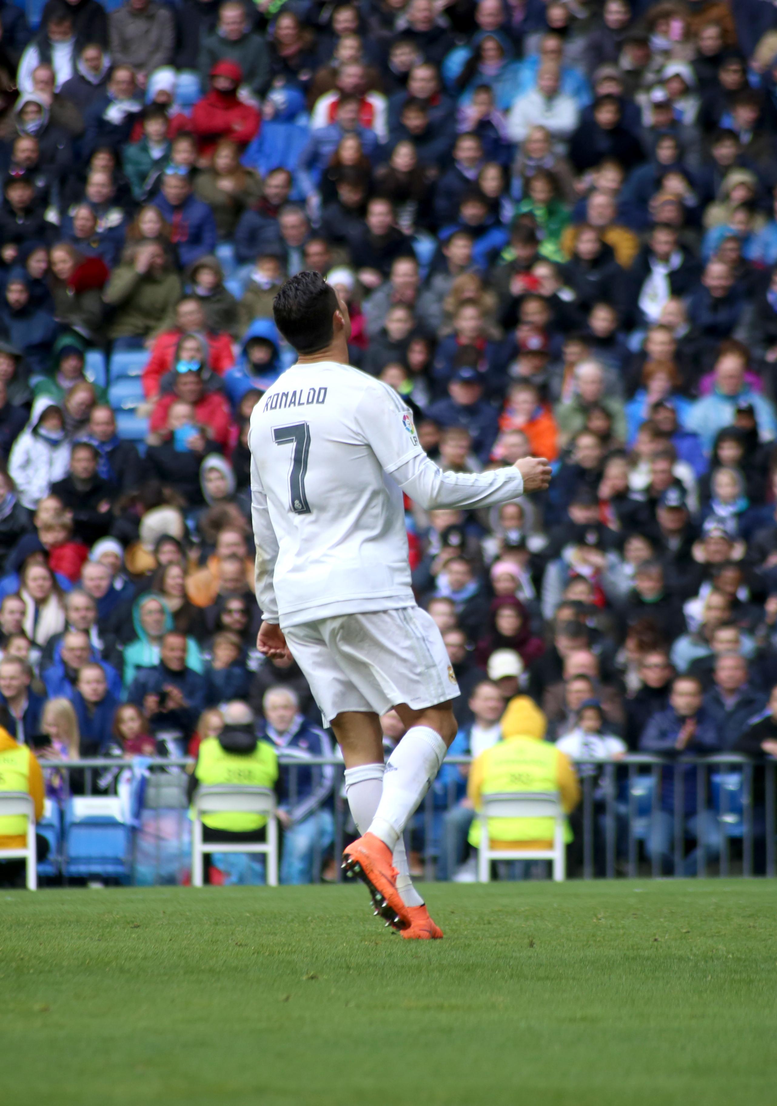 Cristiano em ação no Campeonato Espanhol. 700023b91ef89