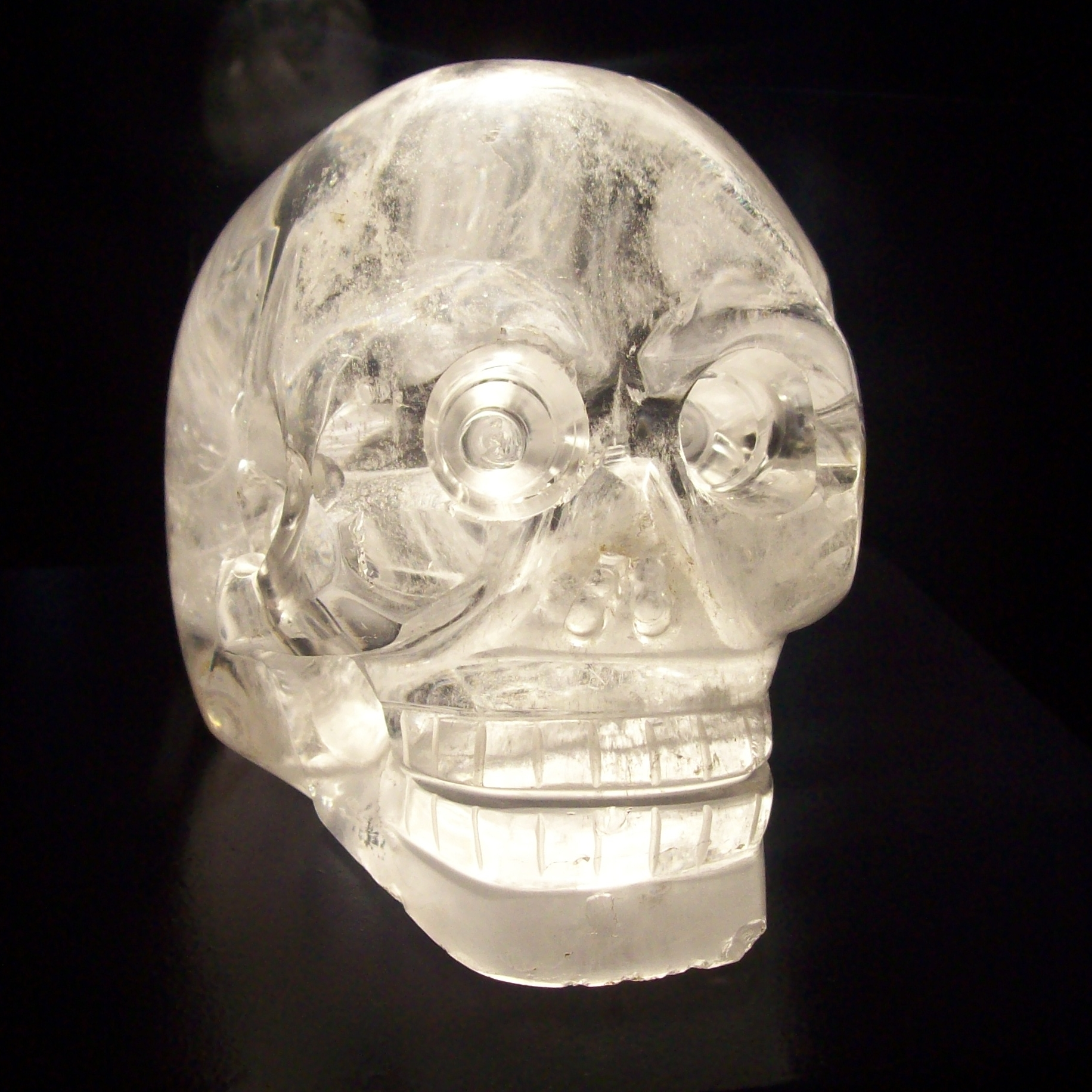 Crystal Skull Jones Crystal Skull at The Musée du