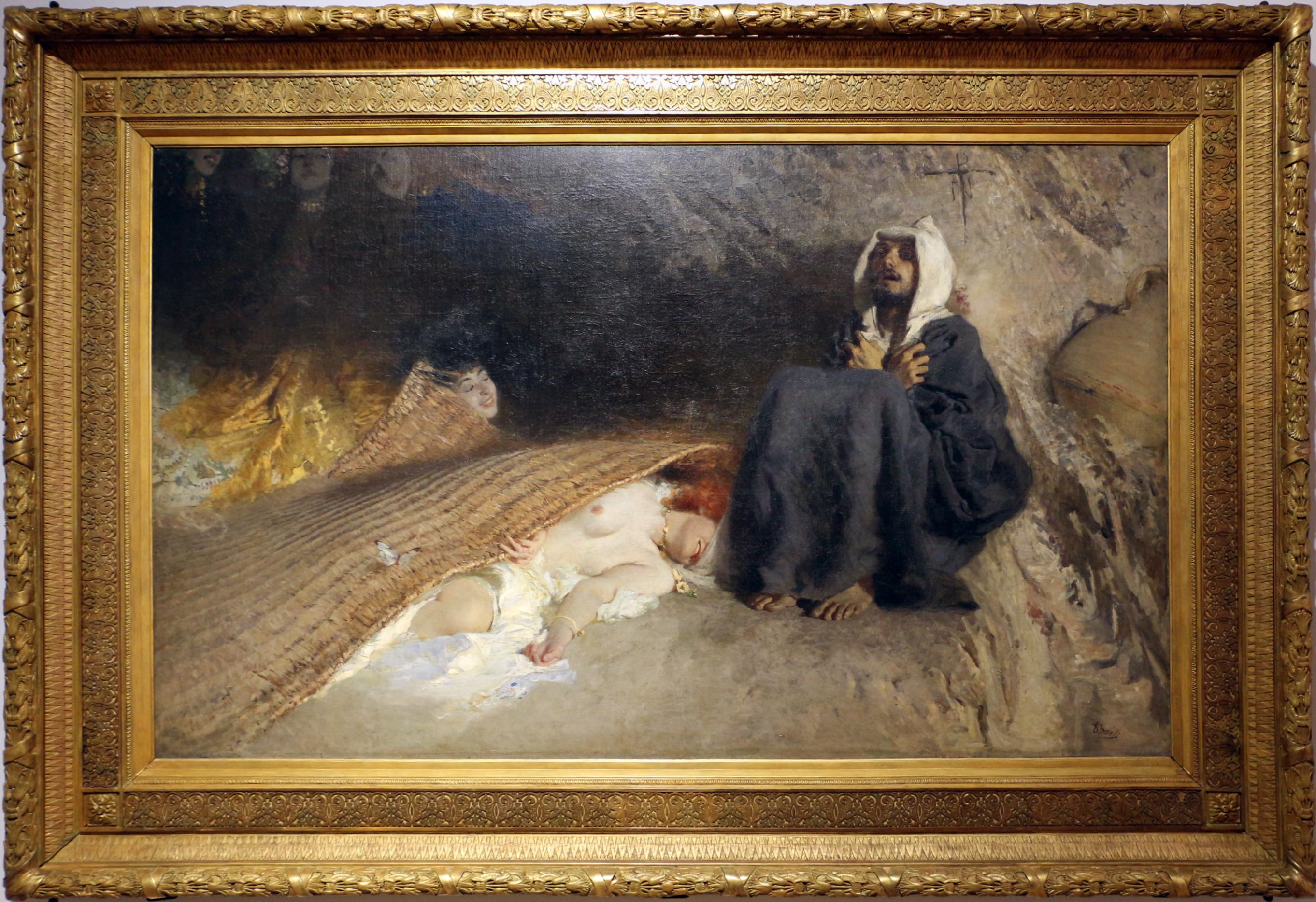 File:Domenico morelli, le tentazioni di sant'antonio, 1878