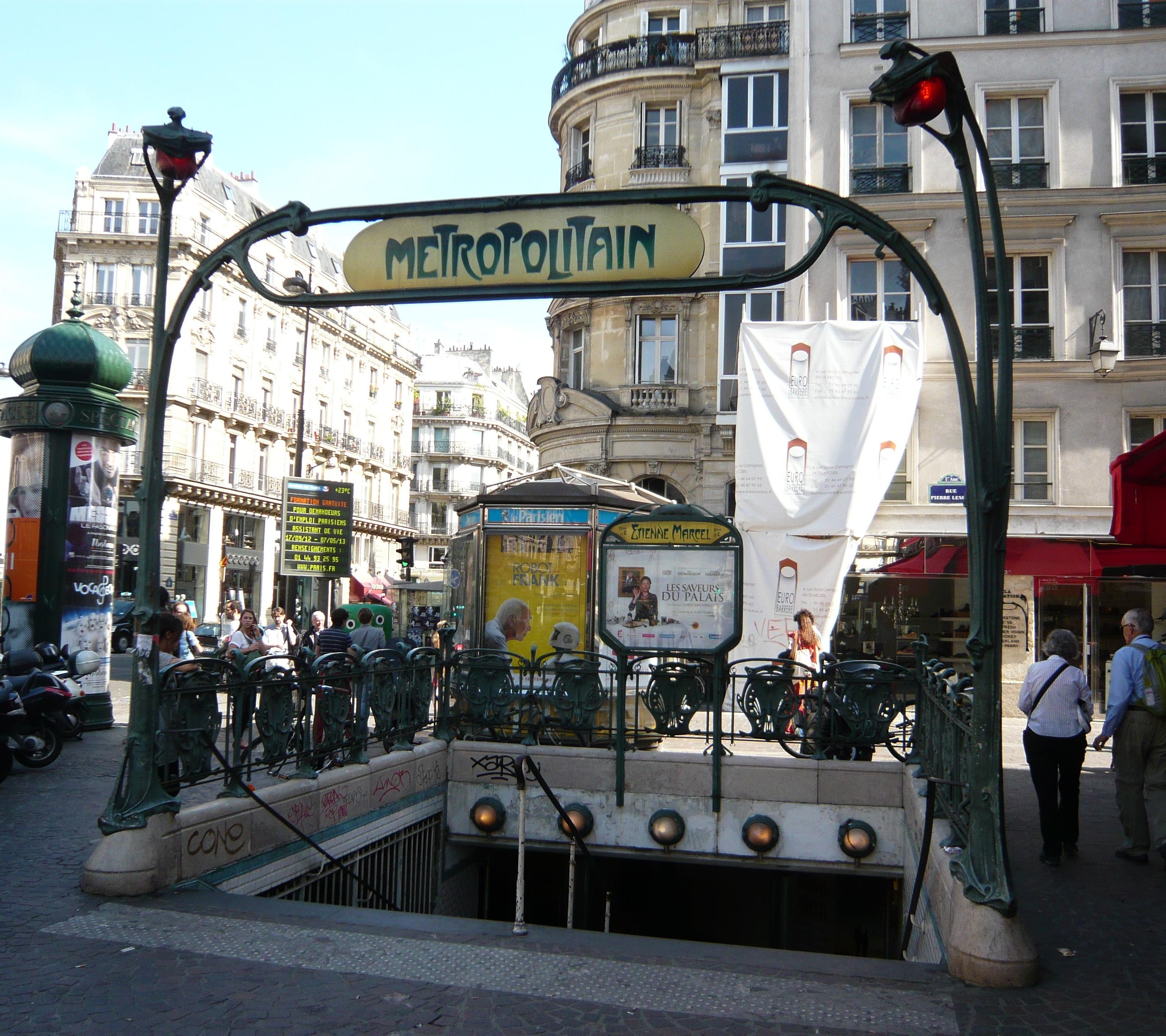 Estación de Étienne Marcel