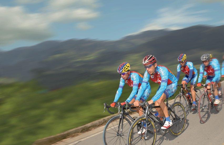 Depiction of Ciclismo en ruta