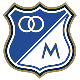 Resultado de imagen para Millonarios escudo png