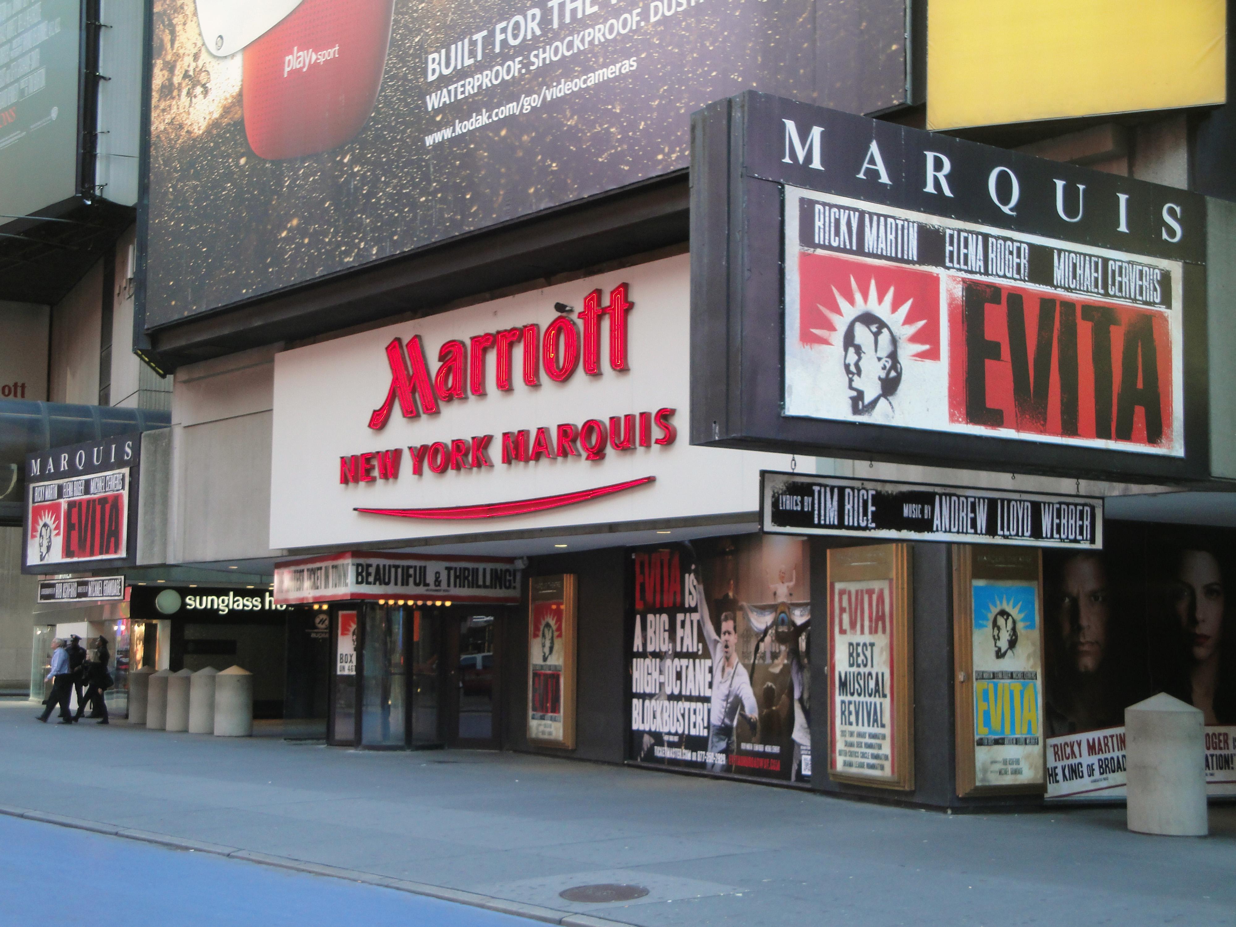 Marquis Theatre Tickets