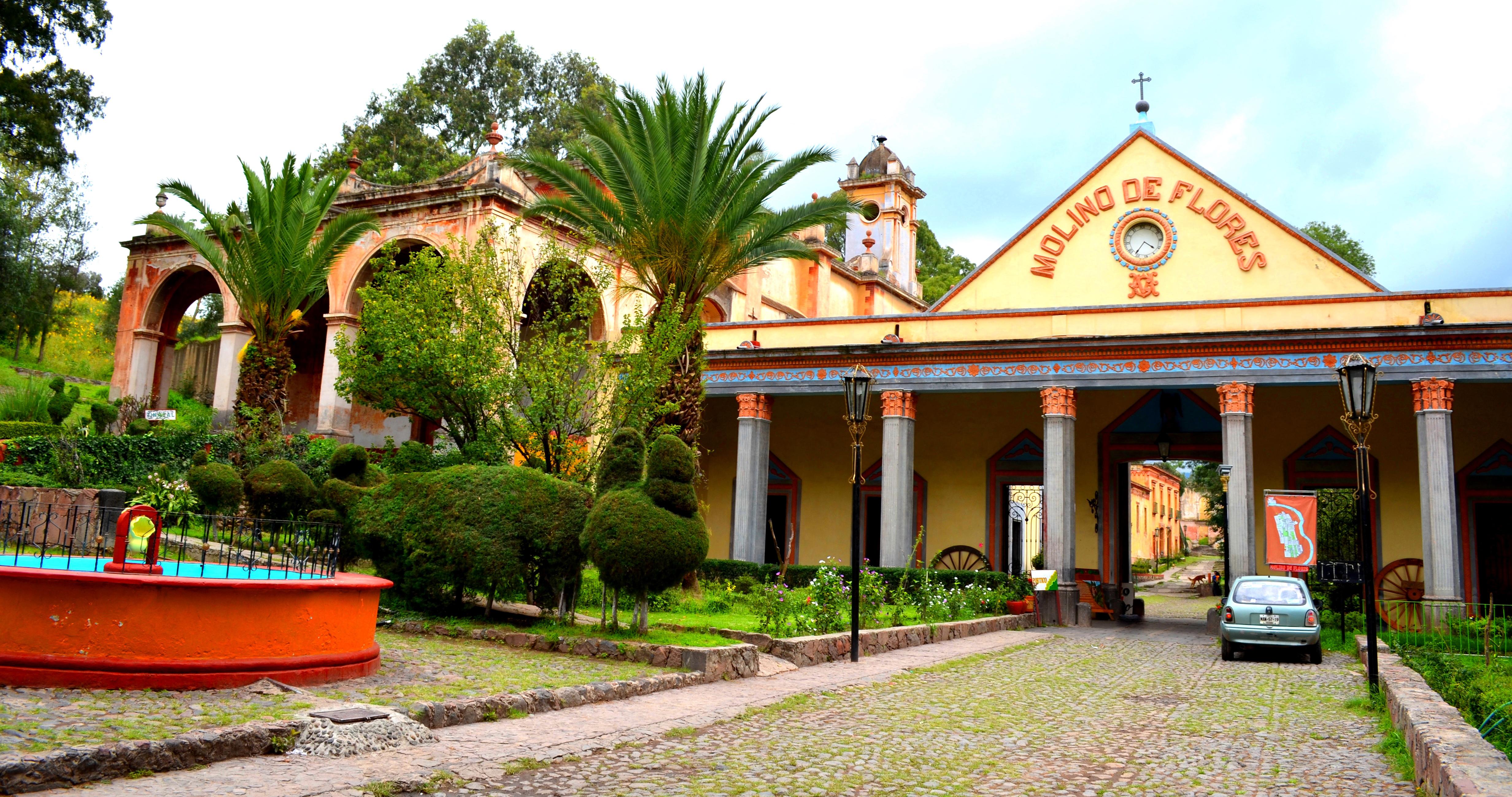 Hacienda Flores Mexican Food Orange