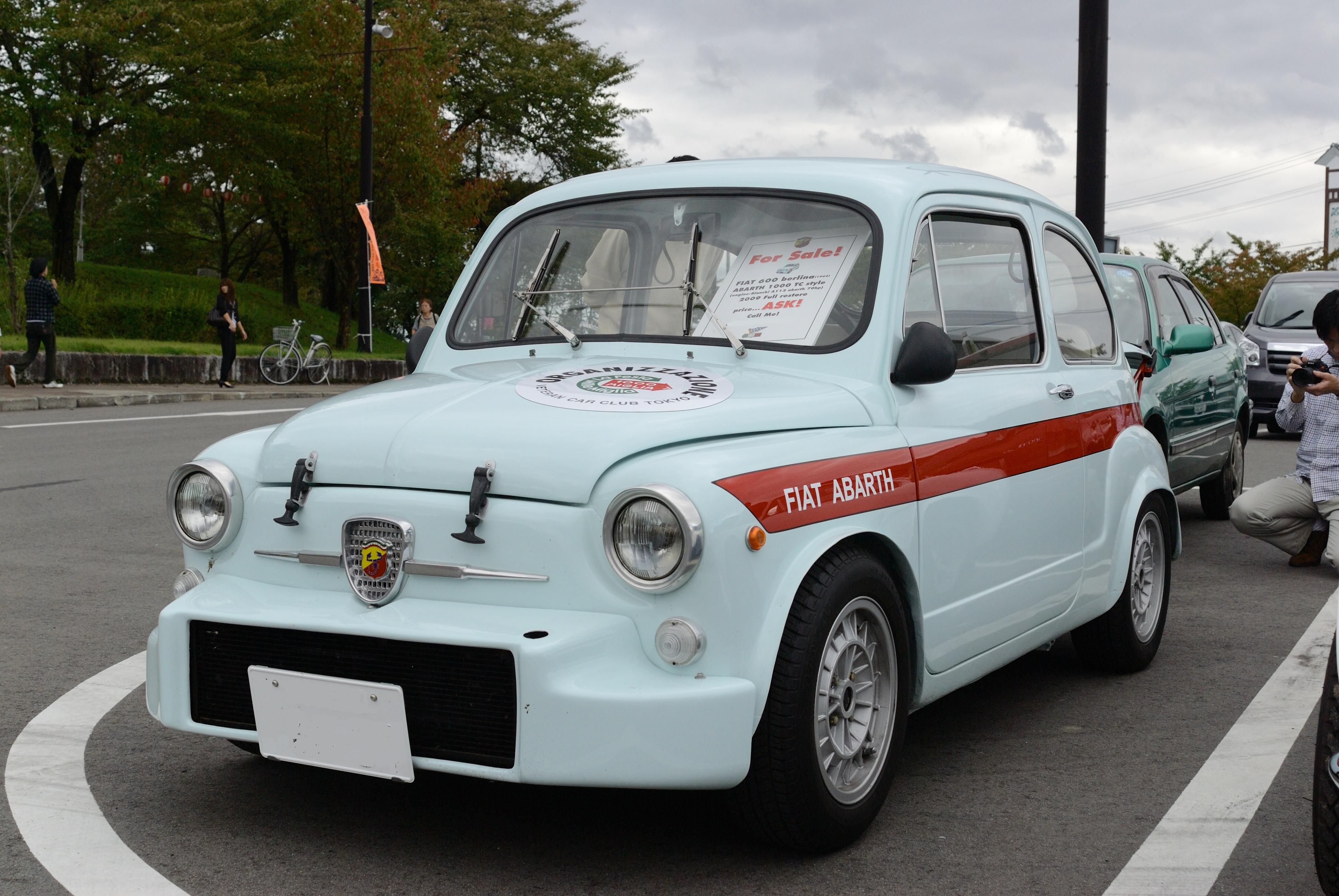 File:FIAT 600 Berlina (1964) ABARTH 1000 TC Style (5066857763).jpg