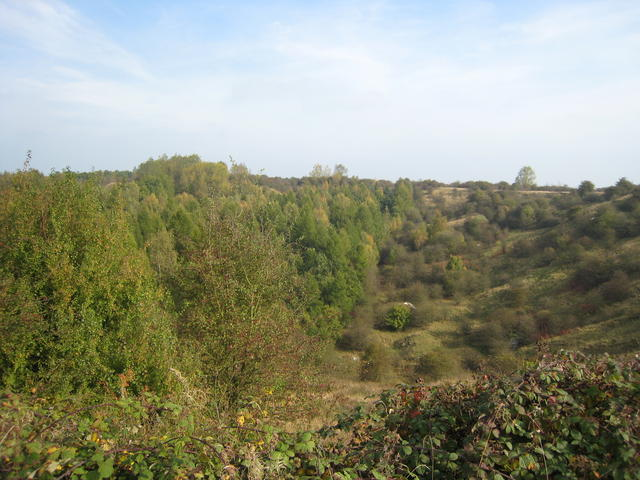 Fauld crater - geograph.org.uk - 582307