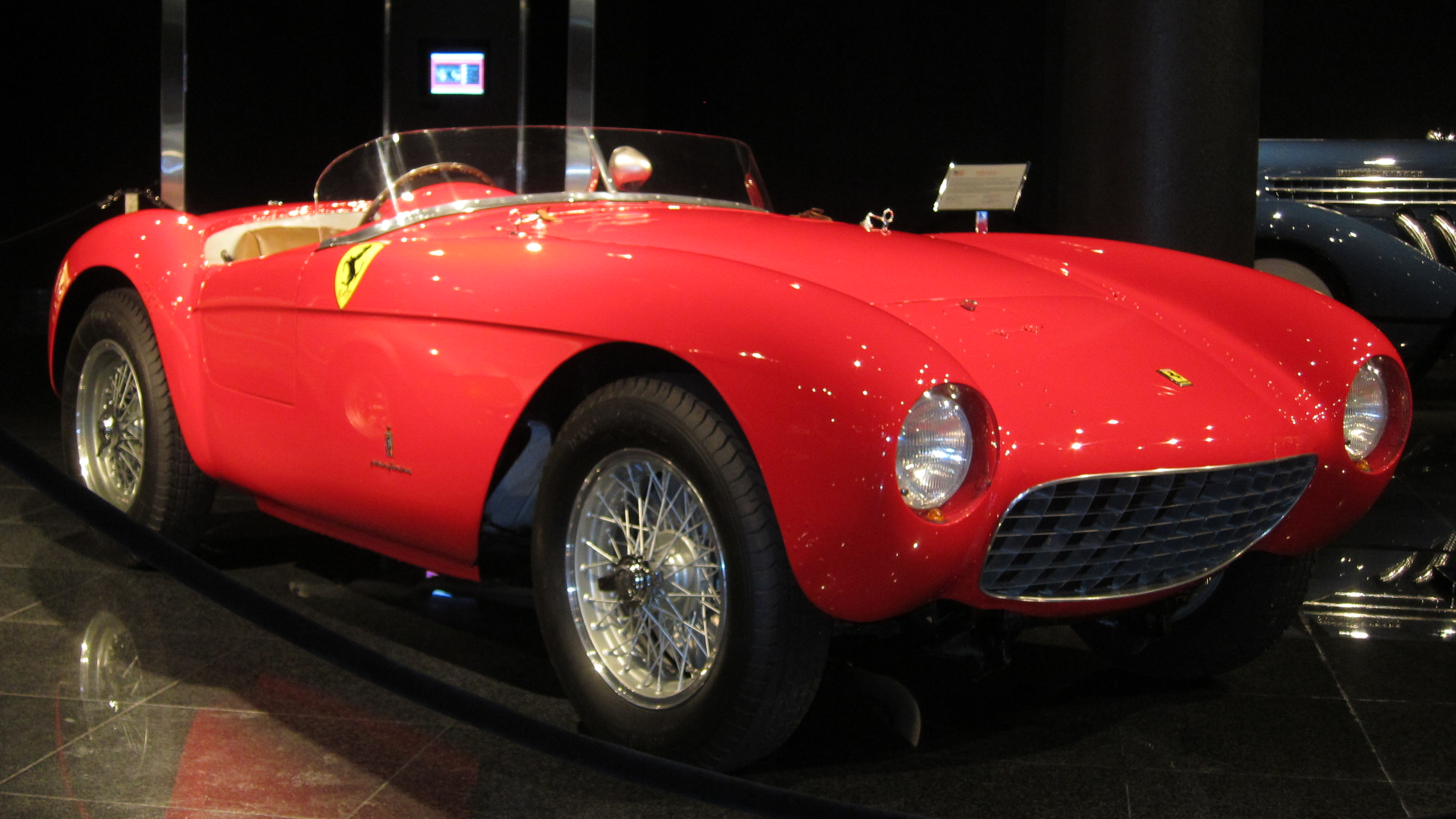 ferrari 500 mondial group s 1954 racing cars. Black Bedroom Furniture Sets. Home Design Ideas
