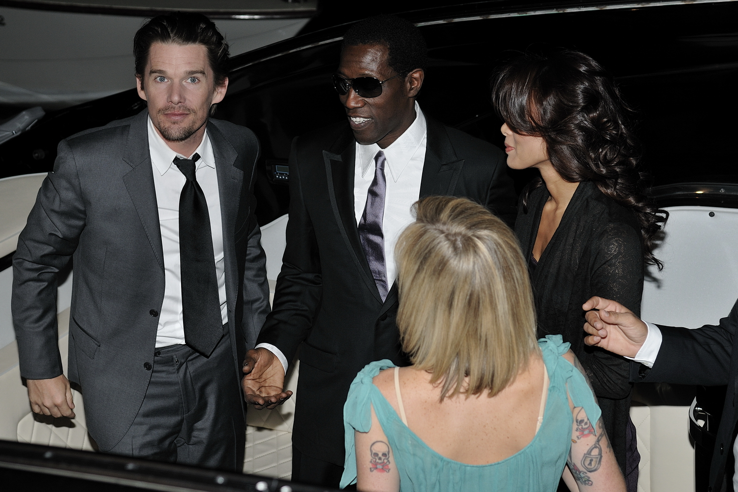 Wesley Snipes Wife Picture And Images