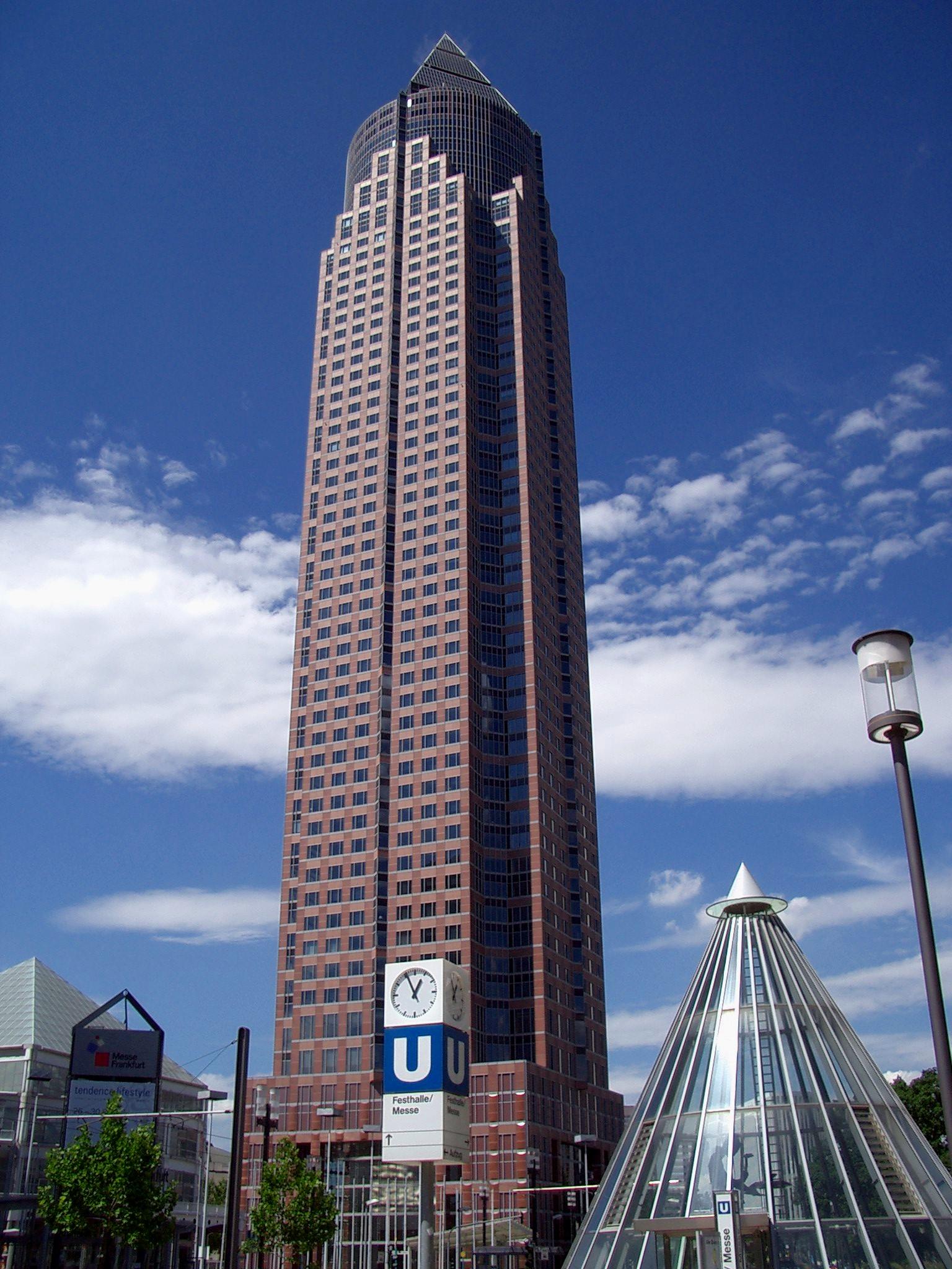 Messeturm wikipedia den frie encyklop di for Architecture post moderne