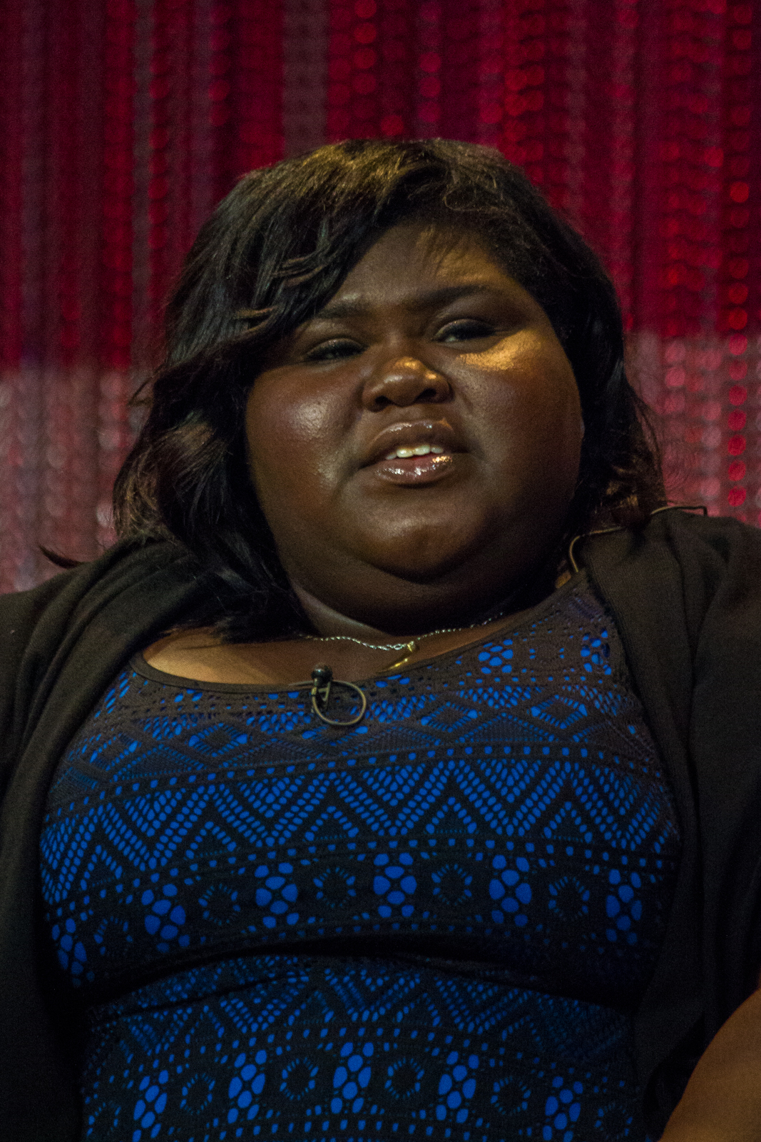 The 35-year old daughter of father Ibnou Sidibe and mother Alice Tan Ridley Gabourey Sidibe in 2018 photo. Gabourey Sidibe earned a  million dollar salary - leaving the net worth at 2 million in 2018