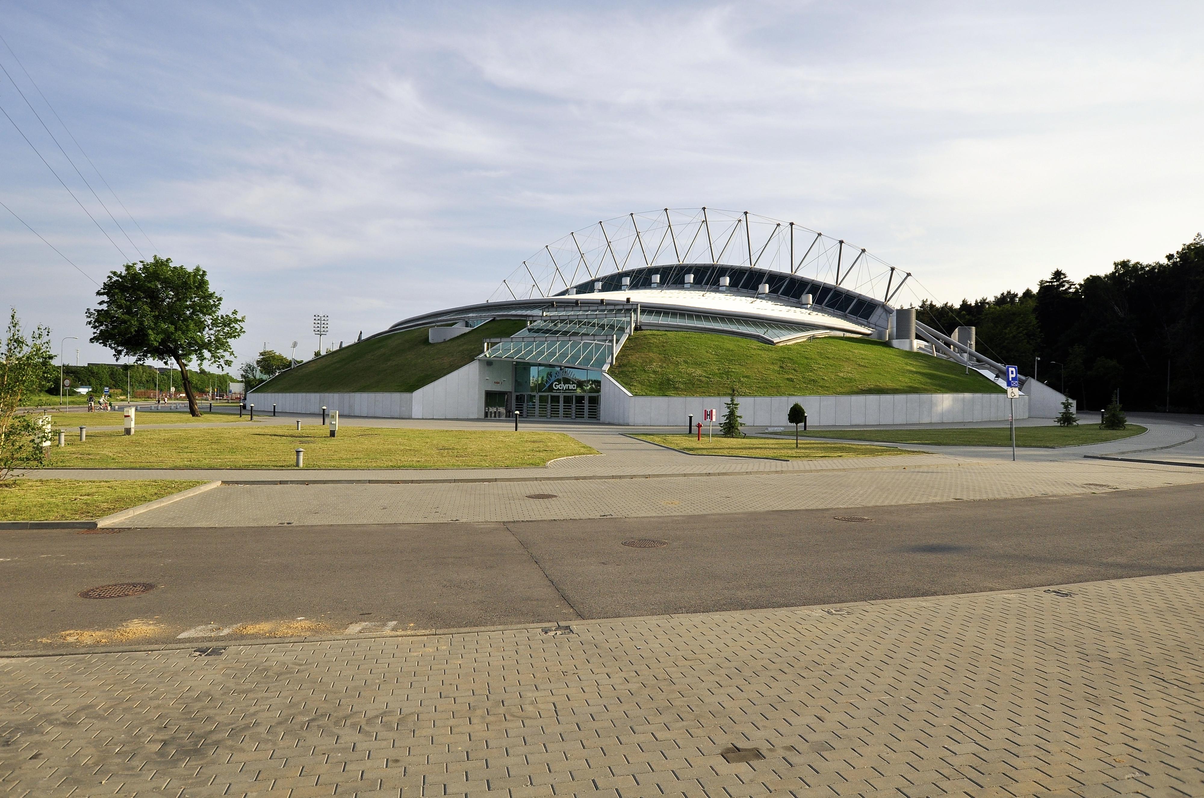 Gdynia Poland  City new picture : Description Gdynia Poland hala sportowo widowiskowa