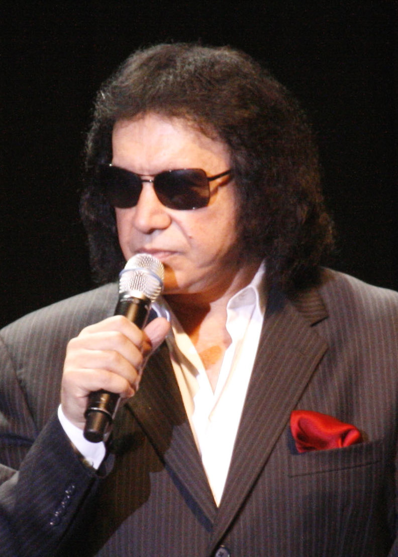 Depiction of Gene Simmons