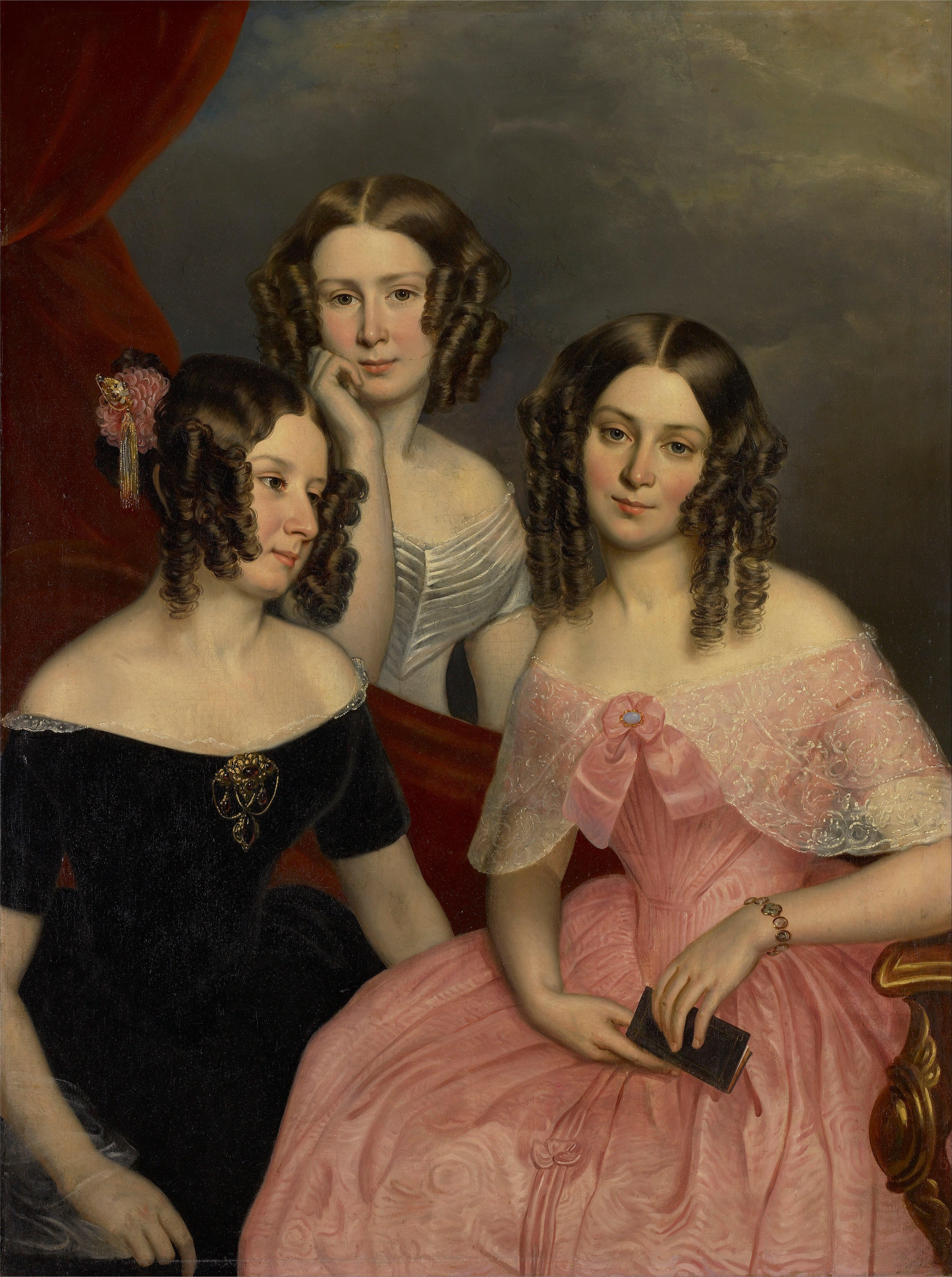 File:George Theodore Berthon - The Three Robinson Sisters