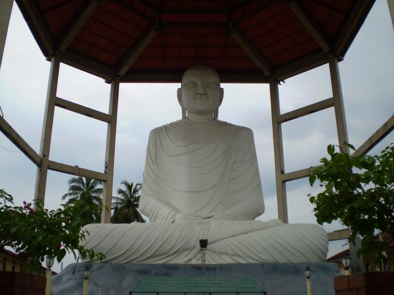 Giant Buddha in Anuradhapura