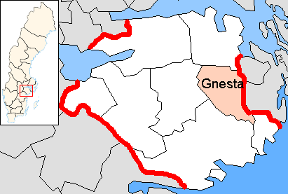 Tập tin:Gnesta Municipality in Södermanland County.png