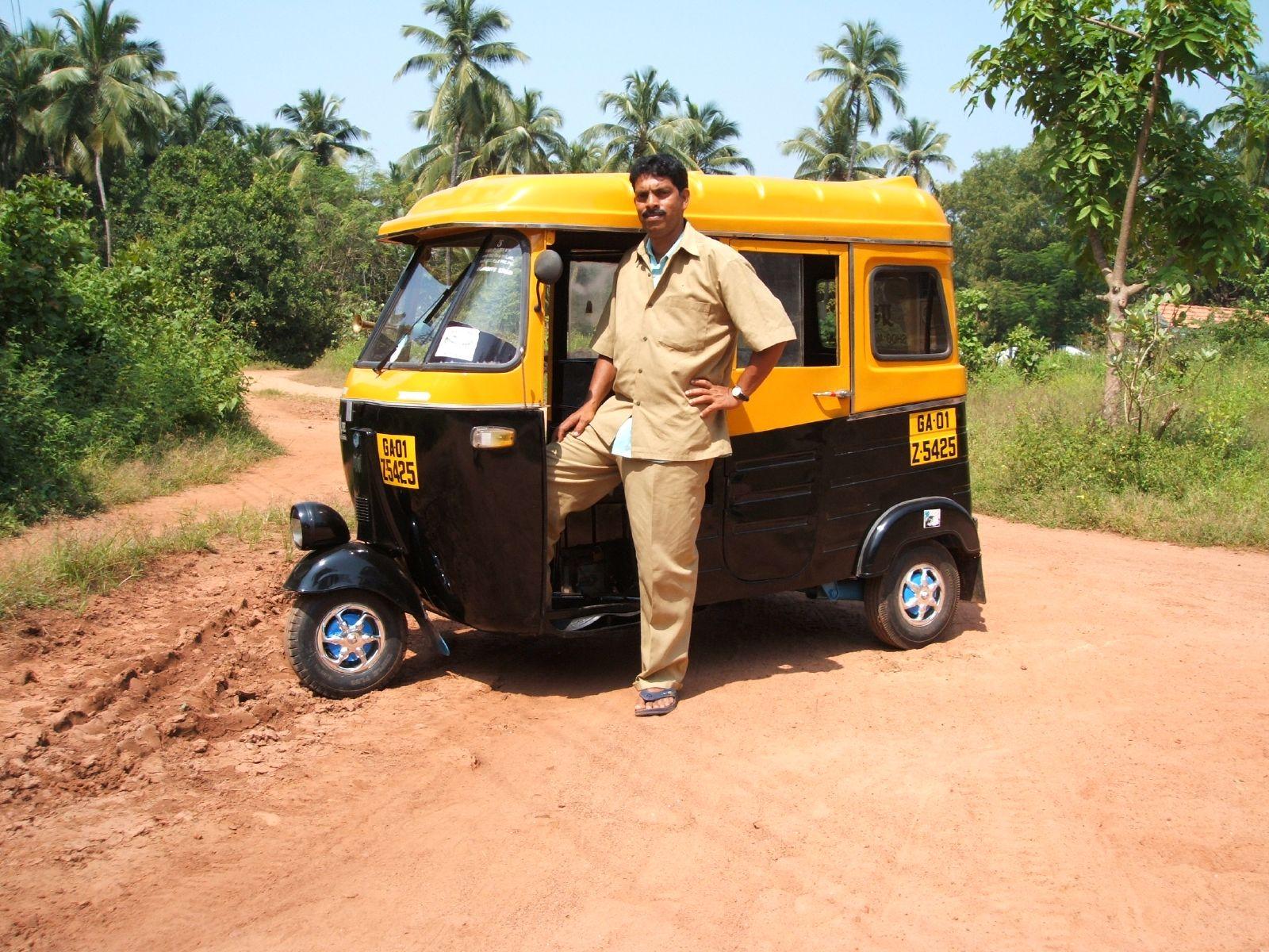 """Auto Rickshaw in India"""