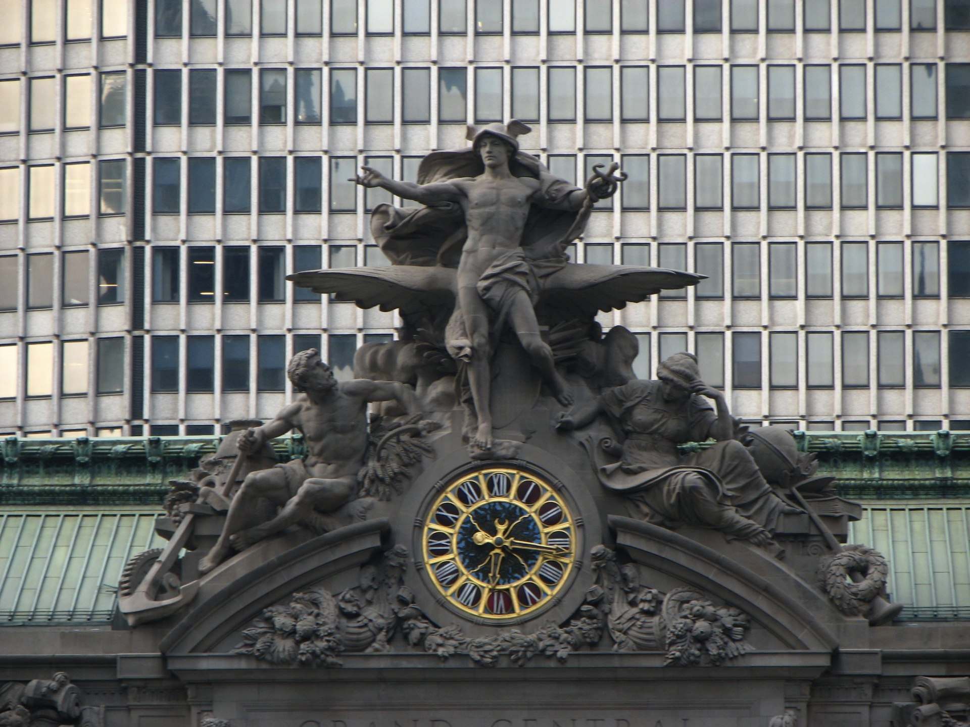 hermes statue grand central - HD1920×1440