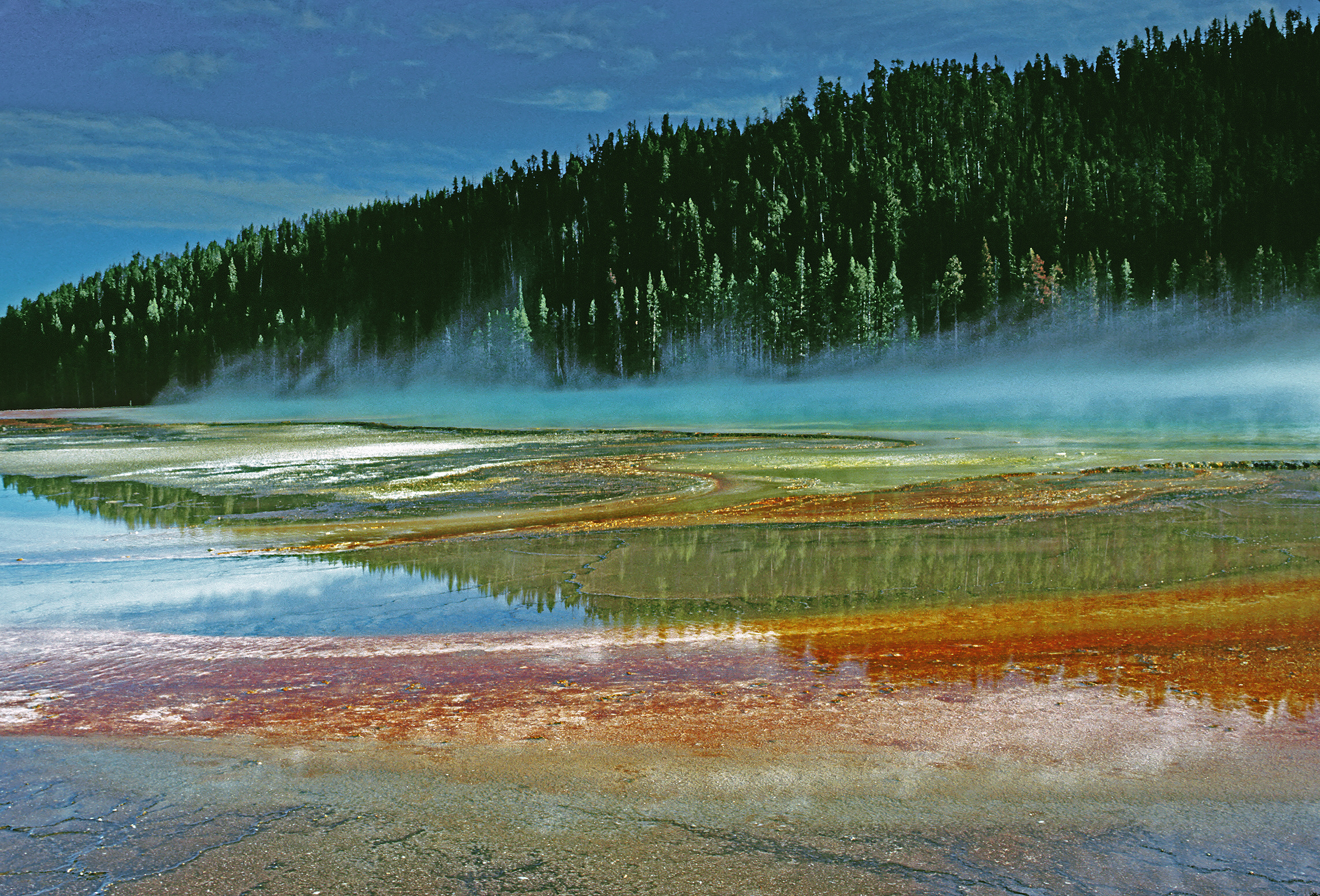 File Grand Prismatic Spring Yellowstone National Park Usa