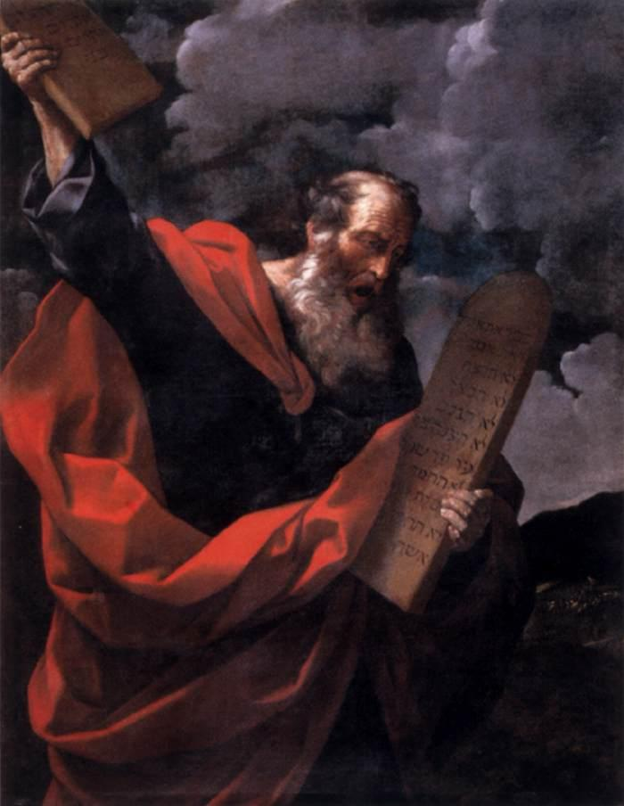 File:Guido Reni - Moses with the Tables of the Law - WGA19289.jpg -  Wikimedia Commons
