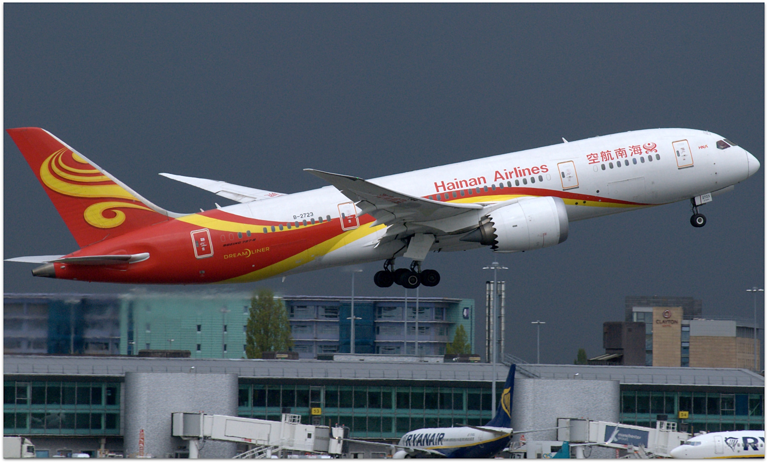 File:Hainan Airlines Boeing 787-8 (B-2723) taking off from