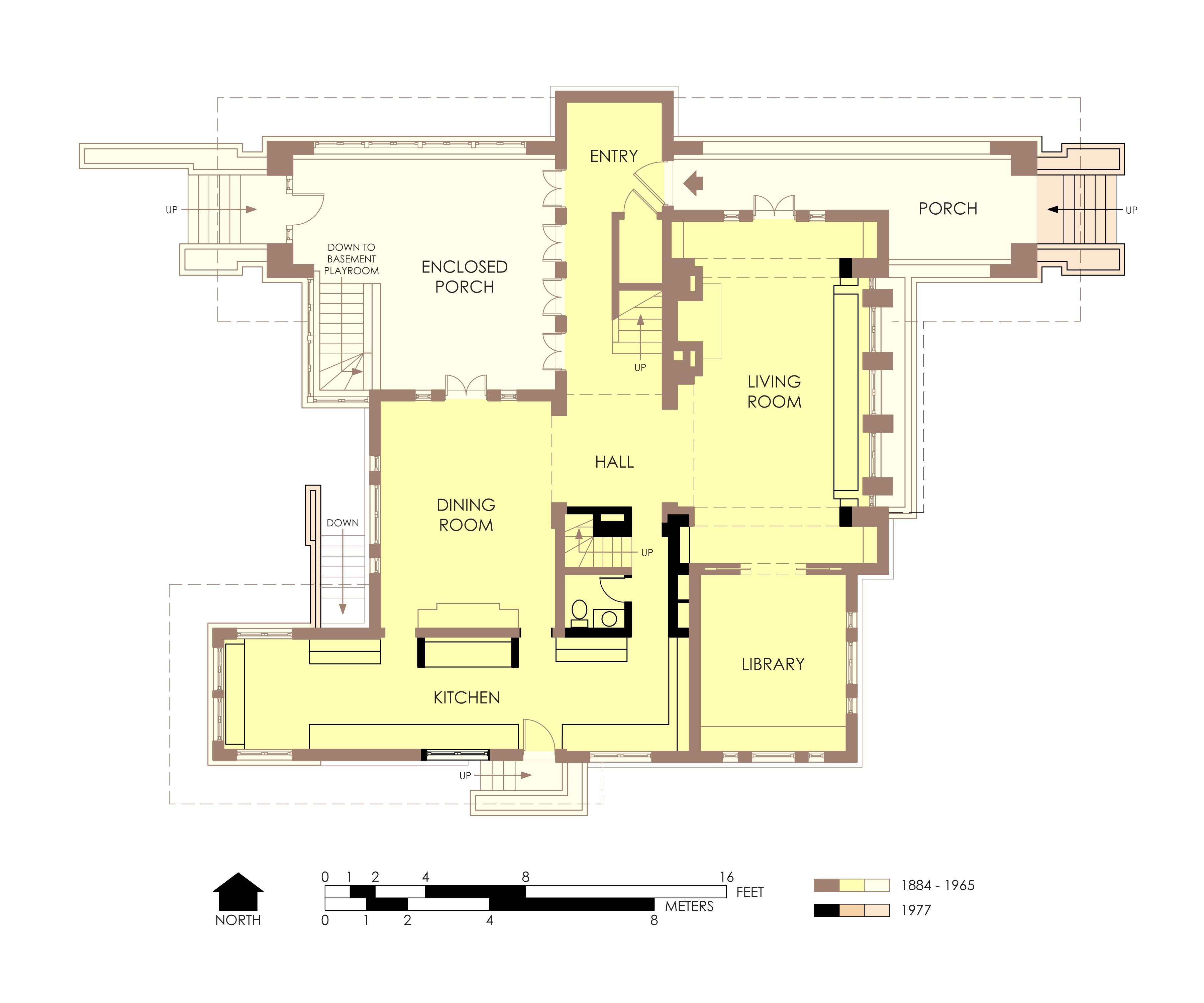 file hills decaro house first floor plan post