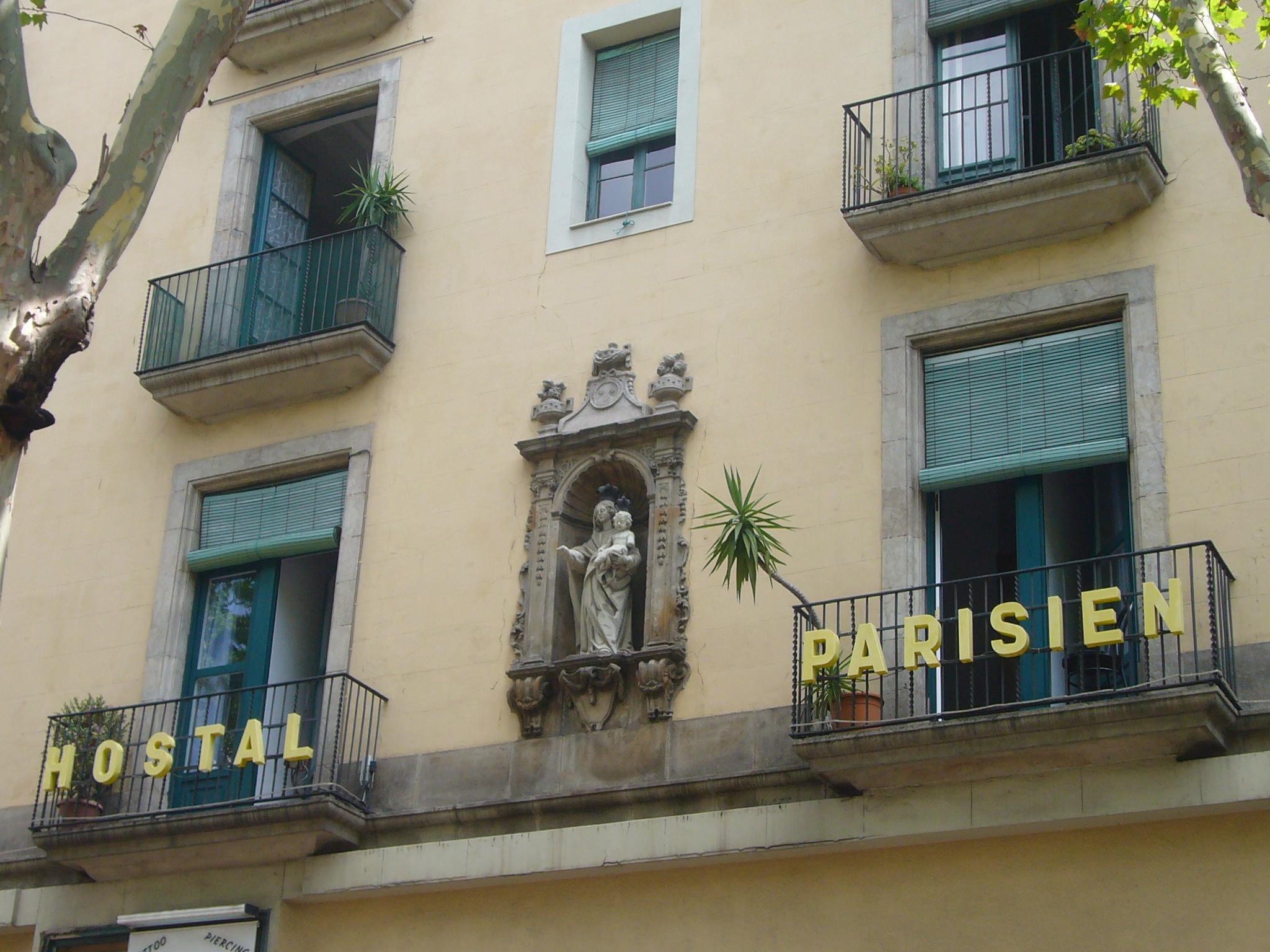 file hostal parisien la rambla 114 barcelona jpg