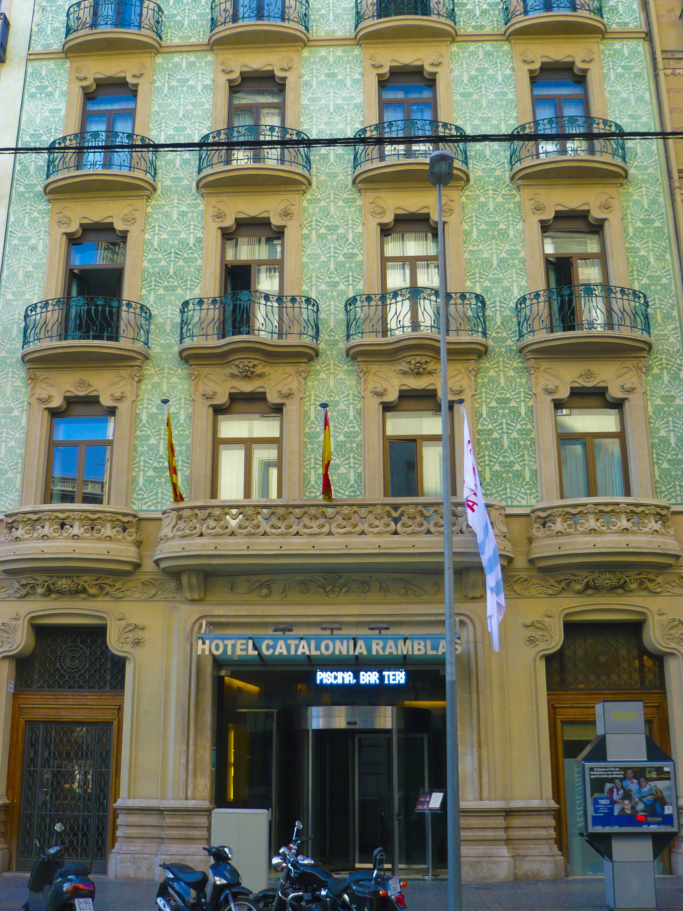 Hotel Barcelone Catalonia Ramblas