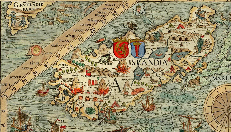 Carta Marina: Islanti
