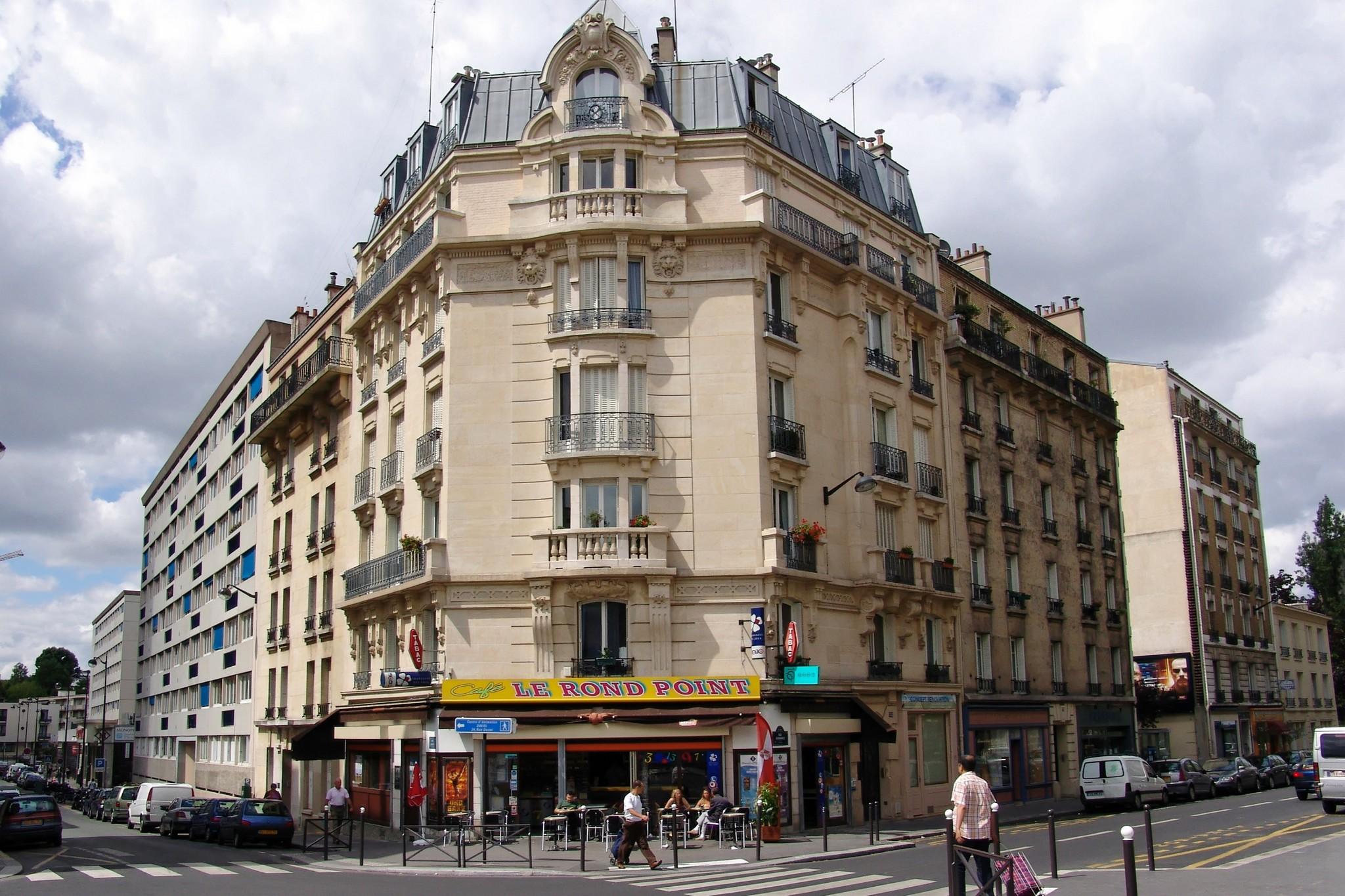 File immeuble situ l 39 angle de la rue daviel paris 13 i me jpg wiki - L eclat de verre paris ...