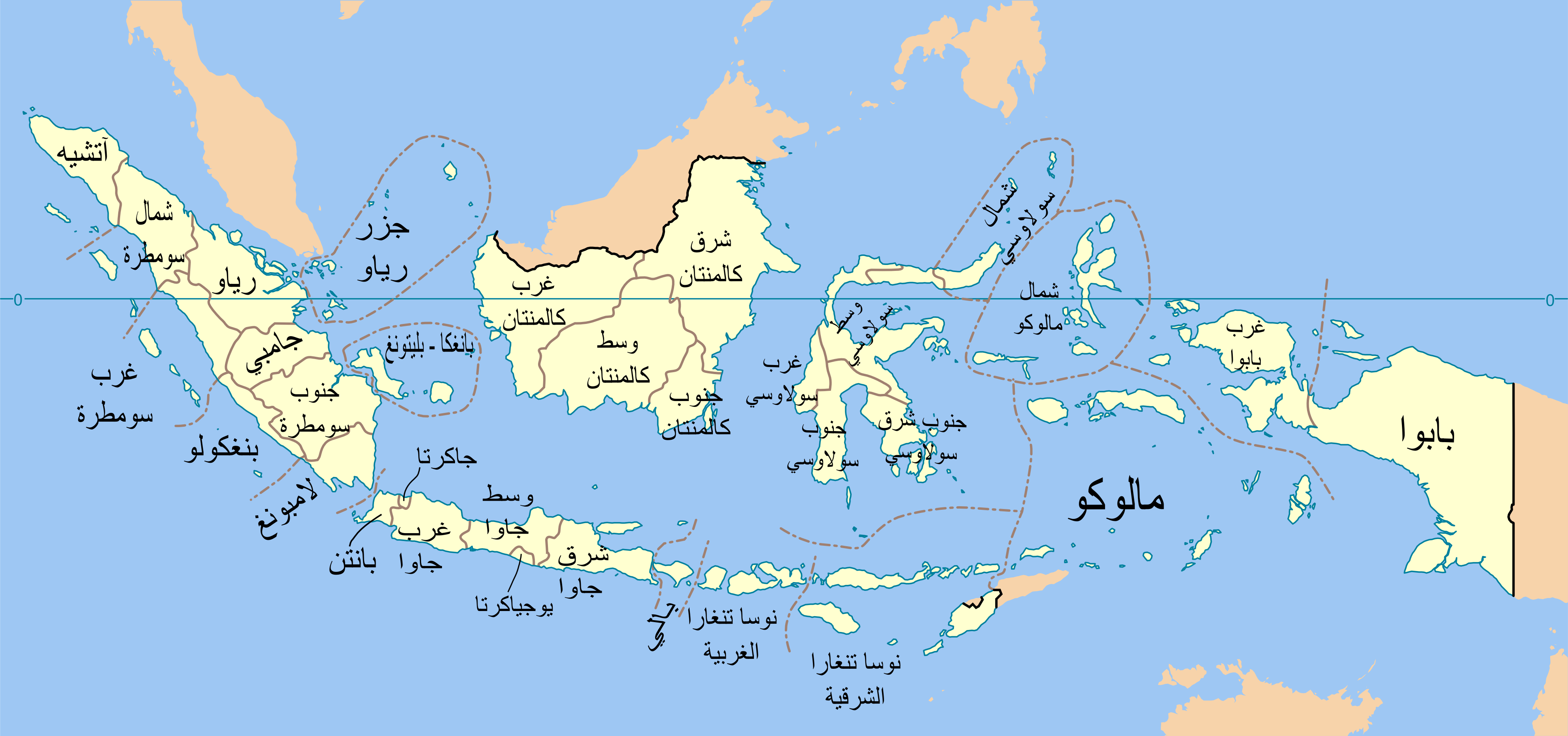 File Indonesia Provinces Blank Map Ar Png Wikimedia Commons