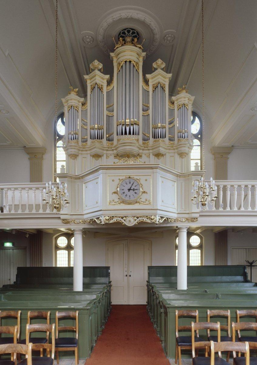 file interieur aanzicht orgel orgelnummer 1866 haarlem