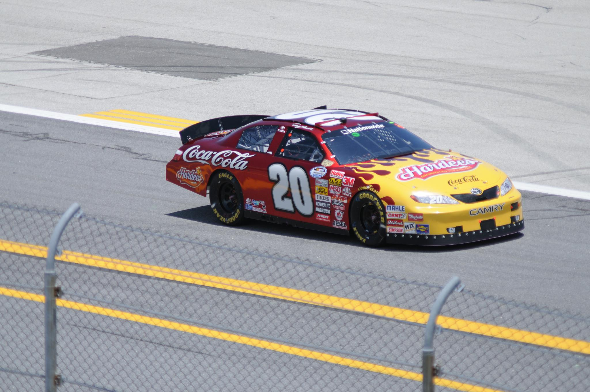 Joe Gibbs Racing American Flag Car Richmond